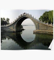 Summer Palace Scene, Beijing Poster