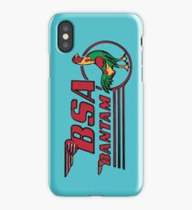 BSA Bantam Motorcycle iPhone Case/Skin