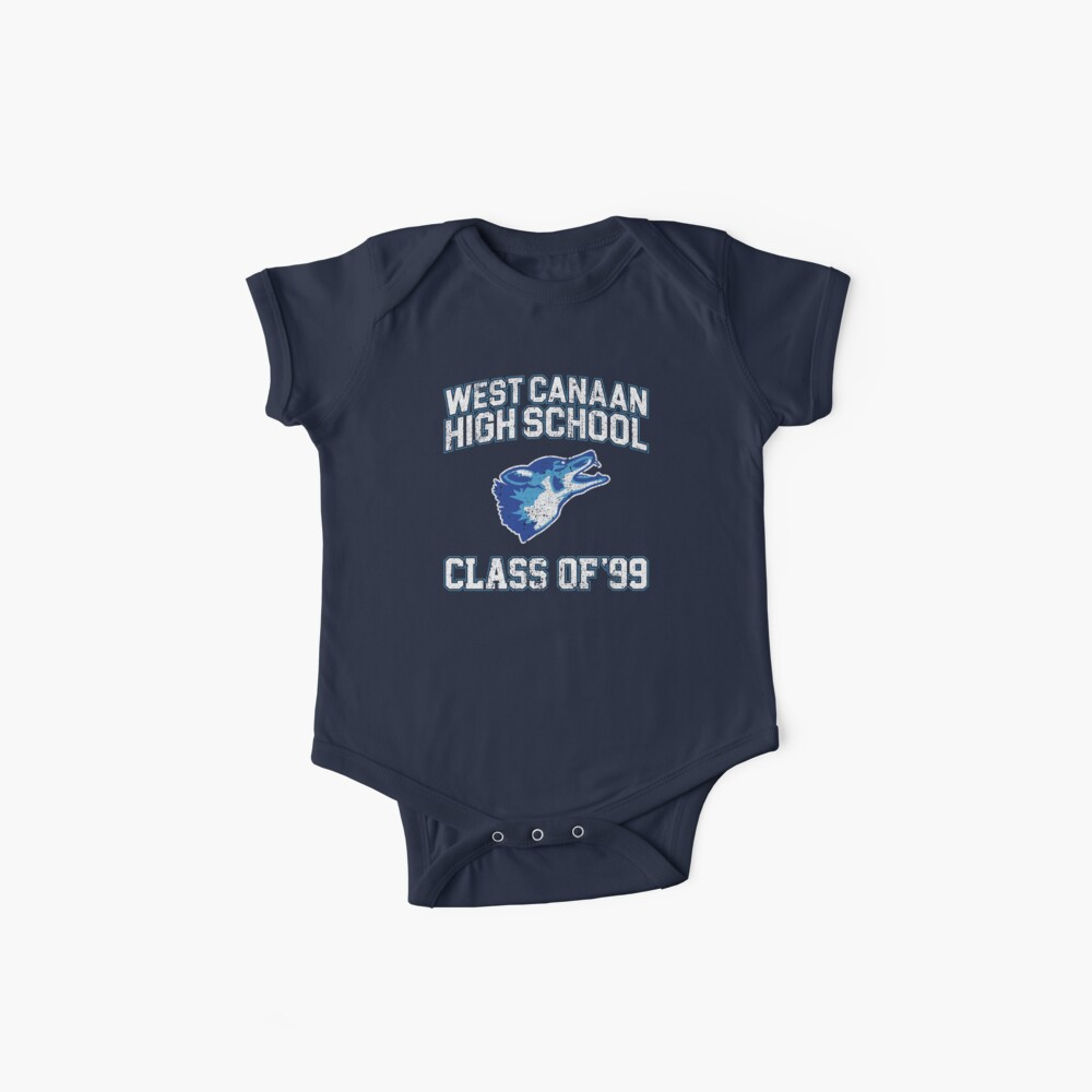 West Canaan High School Class of 99 - Varsity Blues Baby One-Piece