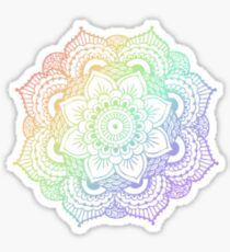 RAINBOW HENNA DESIGN 1 Sticker