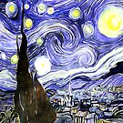 Vincent Van Gogh Gifts Starry Night by CreatedProto