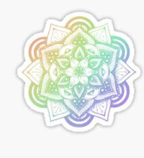 RAINBOW HENNA DESIGN 3 Sticker