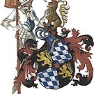 Bavarian Coat of Arms...medieval design  by edsimoneit