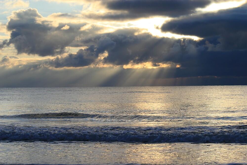 Sunset Over the Irish Sea by Viv Andrew
