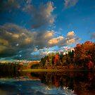 Autumn Lake by Igor Zenin
