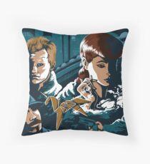 Blade Runner - Collage Throw Pillow