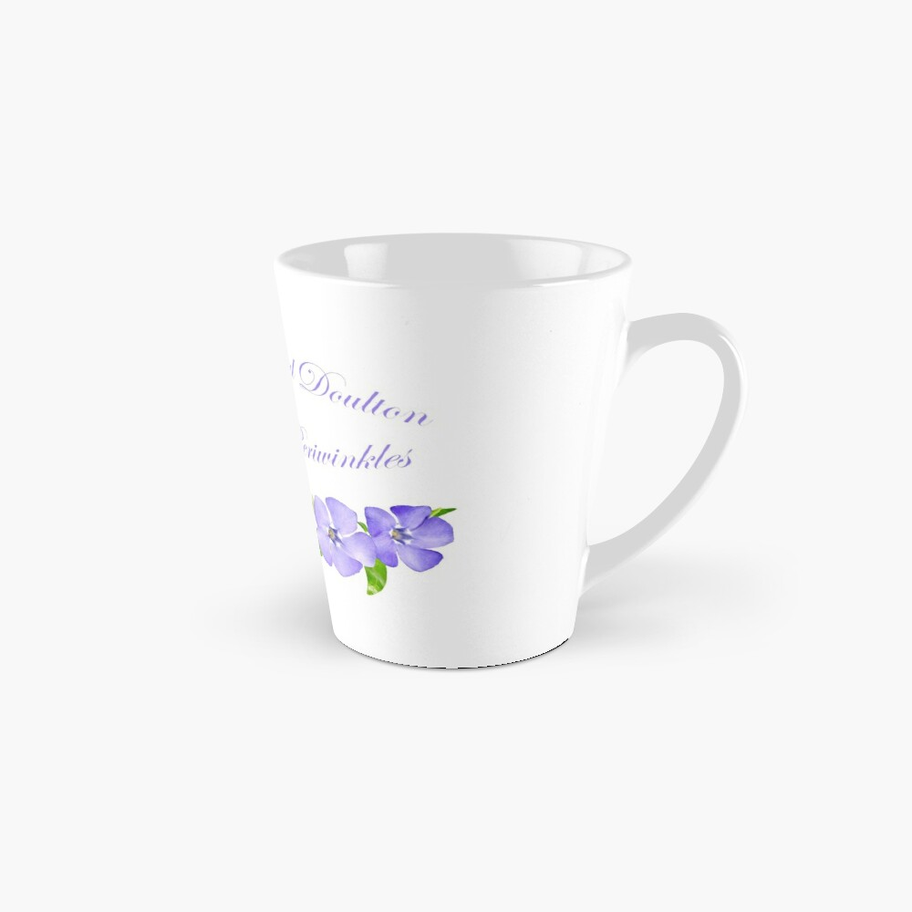 Royal Doulton with Hand Painted Periwinkles Mug