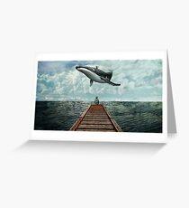 Pier Greeting Card