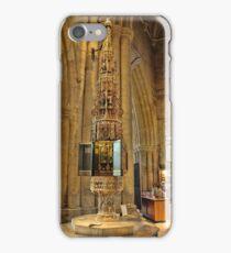 ST Wulframs Church Font Grantham,England iPhone Case/Skin