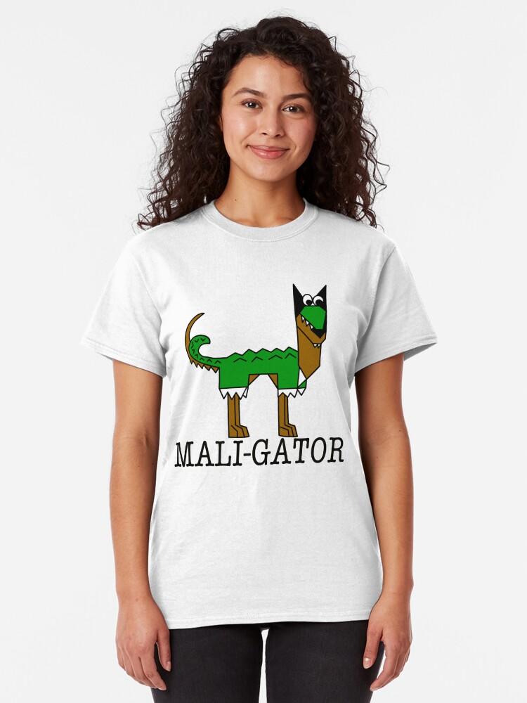 Alternate view of Maligator Too Classic T-Shirt