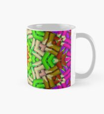 Abstract pattern, symmetrical 2 Mug