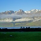 Early morning, Remarkables, South Island, NZ by johnrf