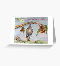 Australian Nativity Greeting Card