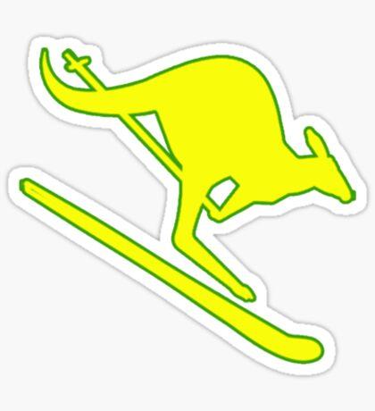 Aus-ski Sticker