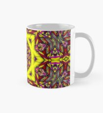 3D Abstract pattern, symmetrical 8 Mug
