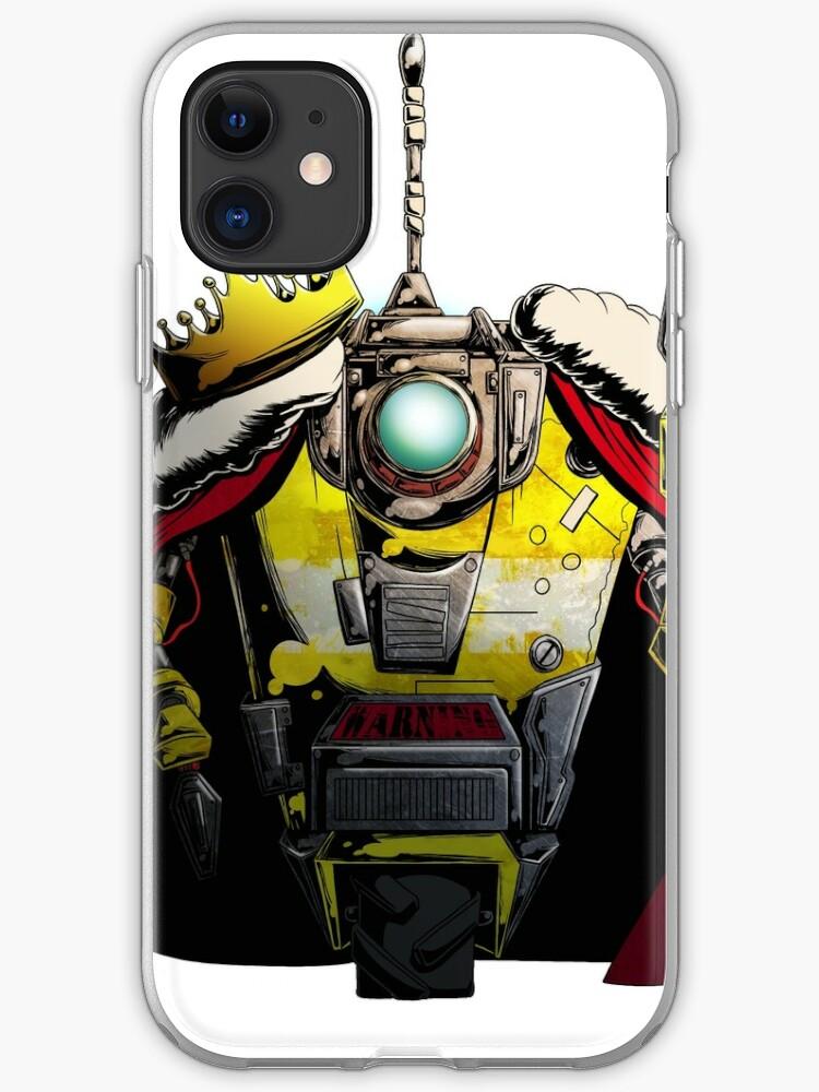 Borderlands Claptrap iphone case