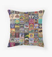 Grateful Dead Album Covers Throw Pillow