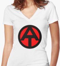 Adventure Team Women's Fitted V-Neck T-Shirt