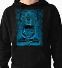 Electric Blue Pullover Hoodie