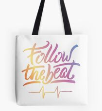 Follow the beat in colors Tote Bag