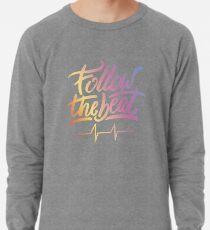 Follow the beat in colors Lightweight Sweatshirt