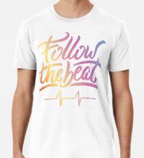 Follow the beat in colors Premium T-Shirt