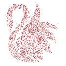 Swan - Pink by CapnMarshmallow