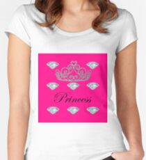 Princess 2  Women's Fitted Scoop T-Shirt