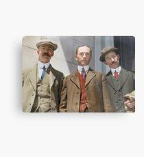 3 surviving crew members of RMS Titanic Metal Print