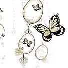 Papillon du Monde Graine - Seed world butterfly by art-mella