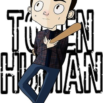 Token Human [Stiles Stilinski, The Bat-man] by thescudders