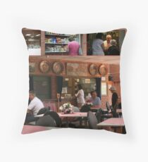 """My """"gig"""", in FrenchsForest- the Neerlandia Club.  Throw Pillow"""