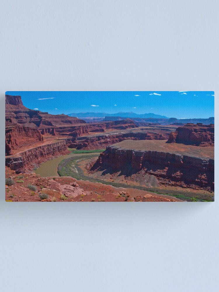 Alternate view of Road to Moab Canvas Print