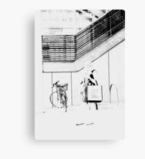 Market Lane Coffee Canvas Print