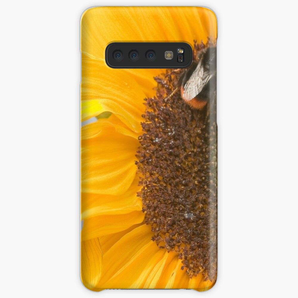 The Sunflower and the Bee Case & Skin for Samsung Galaxy