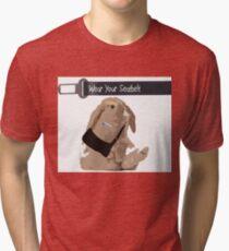 Crash Bunny Tri-blend T-Shirt