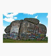 Thunderbolts Rock, Uralla, NSW Photographic Print