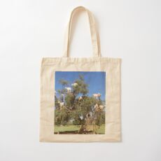 goats in trees Cotton Tote Bag