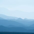 Blue mountains by Philippe Widling