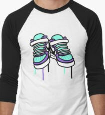 Air Force Ones - Purple and All Men's Baseball ¾ T-Shirt