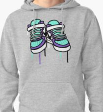 Air Force Ones - Purple and All Pullover Hoodie