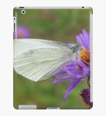 Pieris Rapae aka Small Cabbage White Butterfly iPad Case/Skin