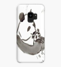 Panda Sumi-e  Case/Skin for Samsung Galaxy