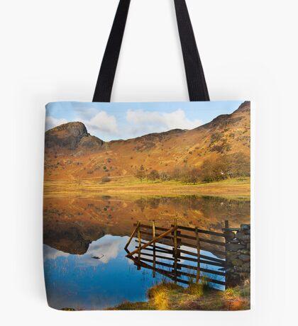 The Fence - Blea Tarn Tote Bag