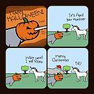 Halloween Monster (Horned Warrior Friends) by jezkemp