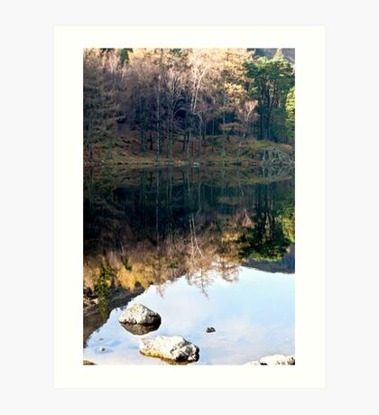 Reflections at Blea Tarn Art Print