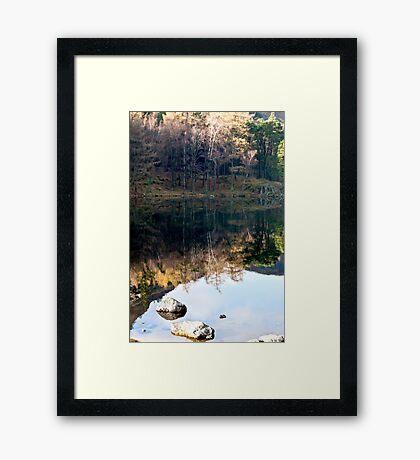 Reflections at Blea Tarn Framed Print