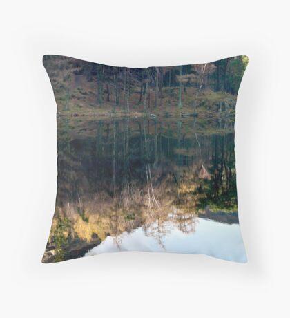Reflections at Blea Tarn Throw Pillow