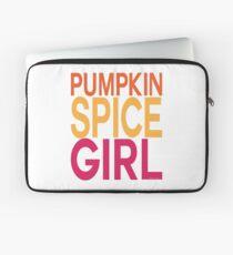 Pumpkin Spice Girl Laptop Sleeve