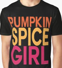 Pumpkin Spice Girl Graphic T-Shirt